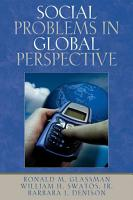 Social Problems in Global Perspective PDF