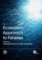 The Ecosystem Approach to Fisheries PDF