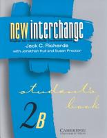 New Interchange Student s Book 2B PDF