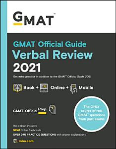 GMAT Official Guide Verbal Review 2021, Book + Online Question Bank and Flashcards Book