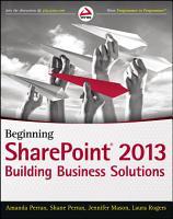 Beginning SharePoint 2013 PDF