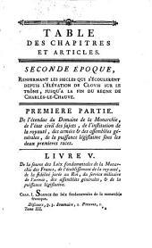 Théorie des loix politiques de la monarchie françoise: Volume3