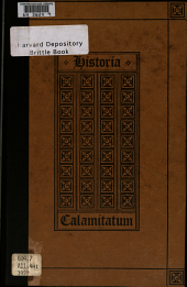 Historia Calamitatum: The Story of My Misfortunes