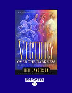 Victory Over the Darkness  Large Print 16pt  Book