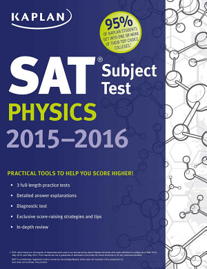 Kaplan SAT Subject Test Physics 2015 2016