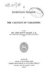 An Elementary Treatise on the Calculus of Variations