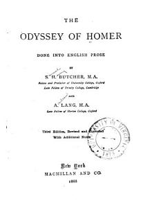 The Odyssey of Homer Done Into English Prose PDF