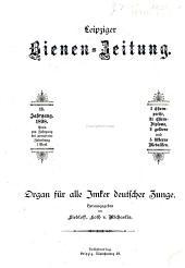 Leipziger Bienenzeitung: Band 13