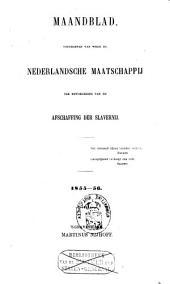 Maandblad uitgegeven van wege de Nederlandsche Maatschappij ter Bevordering van de Afschaffing der Slavernij