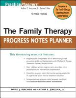 The Family Therapy Progress Notes Planner PDF