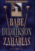Babe Didrikson Zaharias PDF