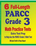 6 Full-Length PARCC Grade 3 Math Practice Tests
