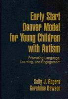 Early Start Denver Model for Young Children with Autism PDF
