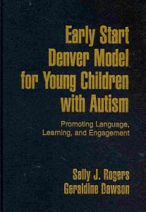 Early Start Denver Model for Young Children with Autism Book