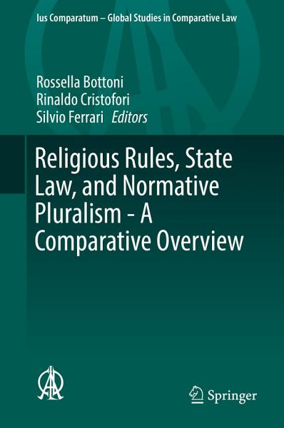 Religious Rules  State Law  and Normative Pluralism   A Comparative Overview