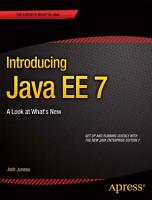 Introducing Java EE 7 PDF
