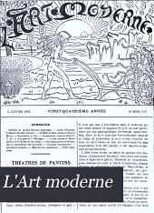 L'Art moderne: Volume24