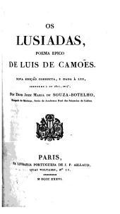 Os Lusiadas, poema epico de Luis de Camoẽs