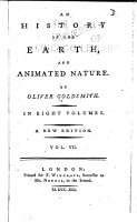 An History of the Earth  and Animated Nature PDF