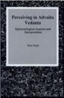 Perceiving in Advaita Ved nta PDF
