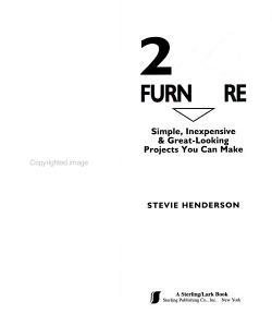 2x4 Furniture PDF