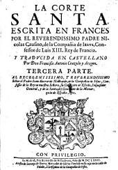 La Corte santa. Traducida en castellano: Volumen 3