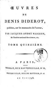Œuvres de Denis Diderot: Volume15