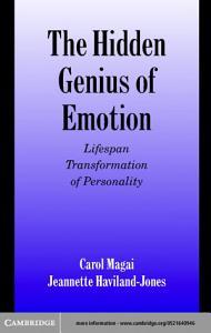 The Hidden Genius of Emotion Book