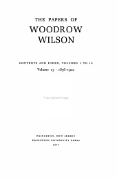The Papers of Woodrow Wilson PDF