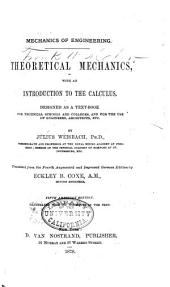 Mechanics of Engineering and Machinery: Part 1