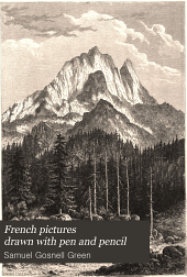 French Pictures Drawn with Pen and Pencil