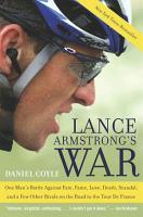 Lance Armstrong s War PDF