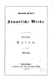 Heinrich Heine's sämmtliche Werke: Band 3