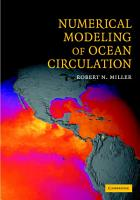 Numerical Modeling of Ocean Circulation PDF