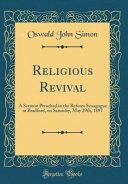 Religious Revival PDF