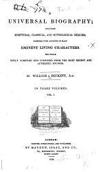 A Universal Biography PDF