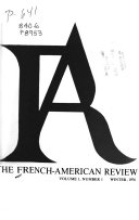 Download FAR  The French American Review Book