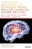 Predictive Analytics with Microsoft Azure Machine Learning 2nd Edition PDF