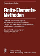 Finite Elemente Methoden PDF