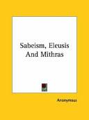 Sabeism, Eleusis and Mithras