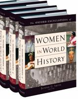 The Oxford Encyclopedia of Women in World History PDF