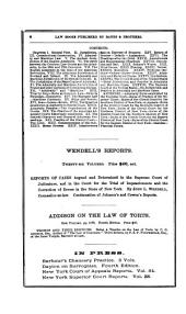 Reports of Cases Heard and Determined in the Supreme Court of the State of New York: Volume 2