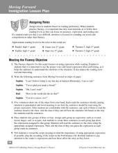 Moving Forward--Reader's Theater Script & Fluency Lesson