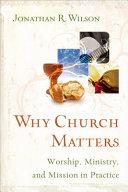 Why Church Matters Book PDF