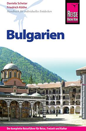 Reise Know How Bulgarien  Reisef  hrer  PDF