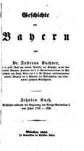 Geschichte von Baiern: Band 10