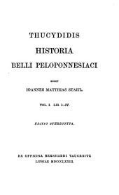 Thucydidis historia belli Peloponnesiaci ed. J.M. Stahl. Ed. stereotypa