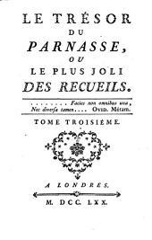 Le tresor du Parnasse: ou le plus joli des recueils