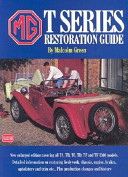 MG T Series Restoration Guide