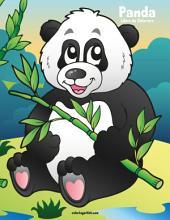 Panda Libro da Colorare 1